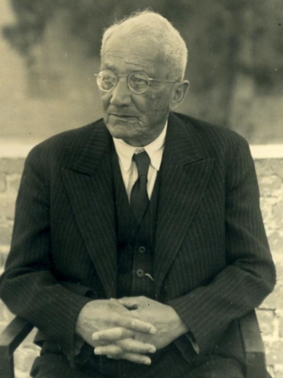 Franz Oppenheimer in 1936.