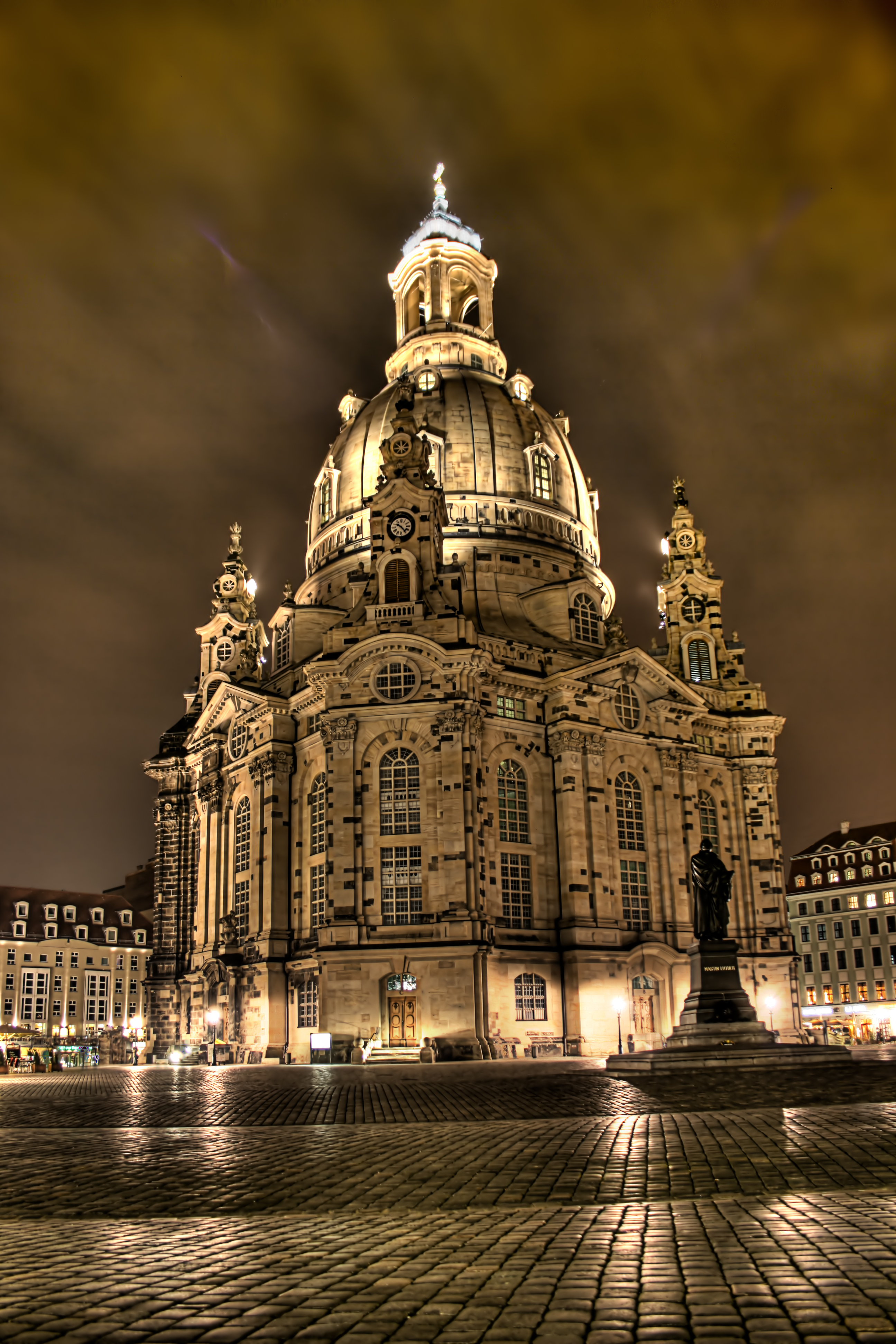 Dresden frauenkirche church of our lady dresden germany for Germany rebuilding after ww2