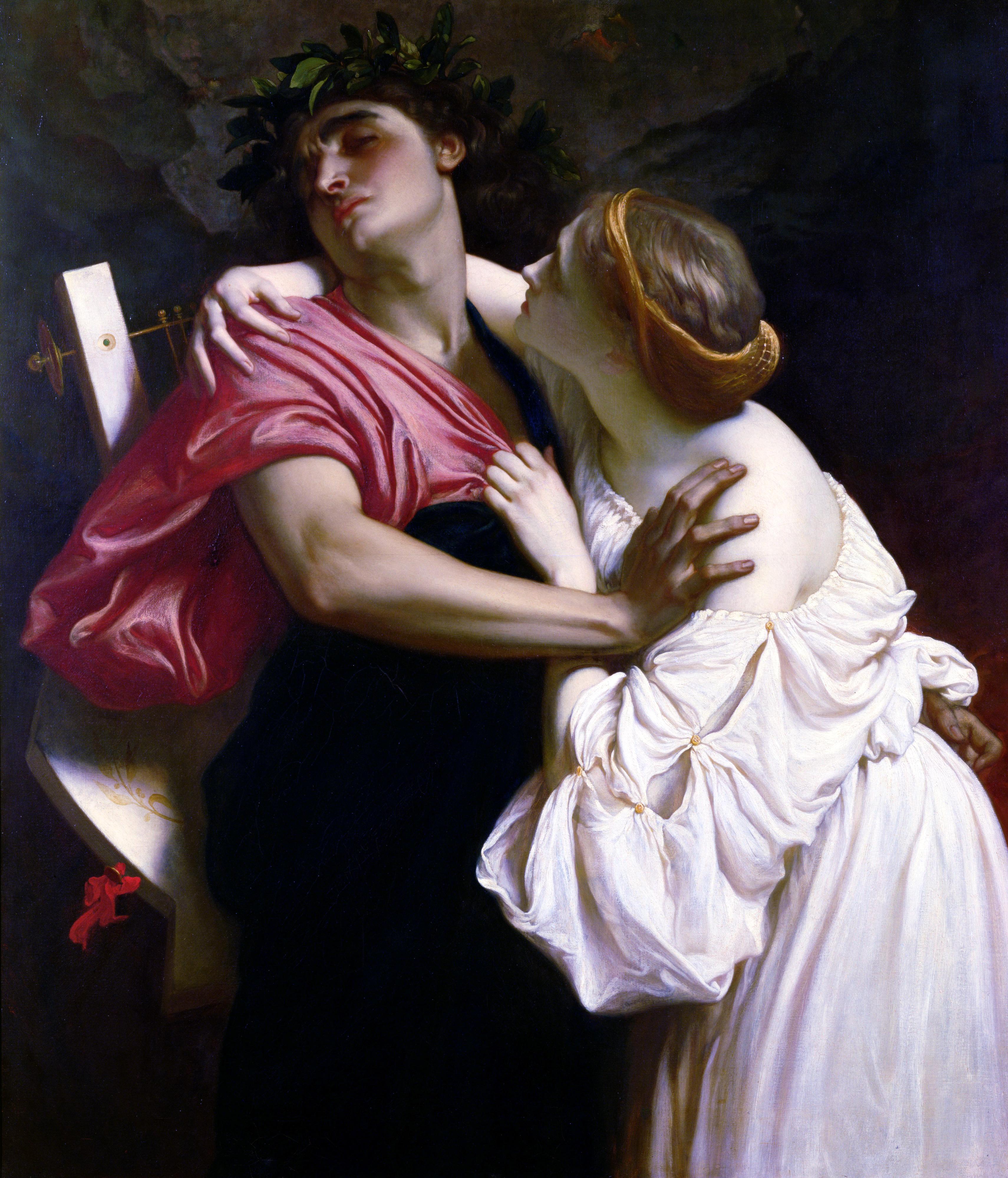File:Frederic Leighton-Orfeo ed Euridice-1864.jpg
