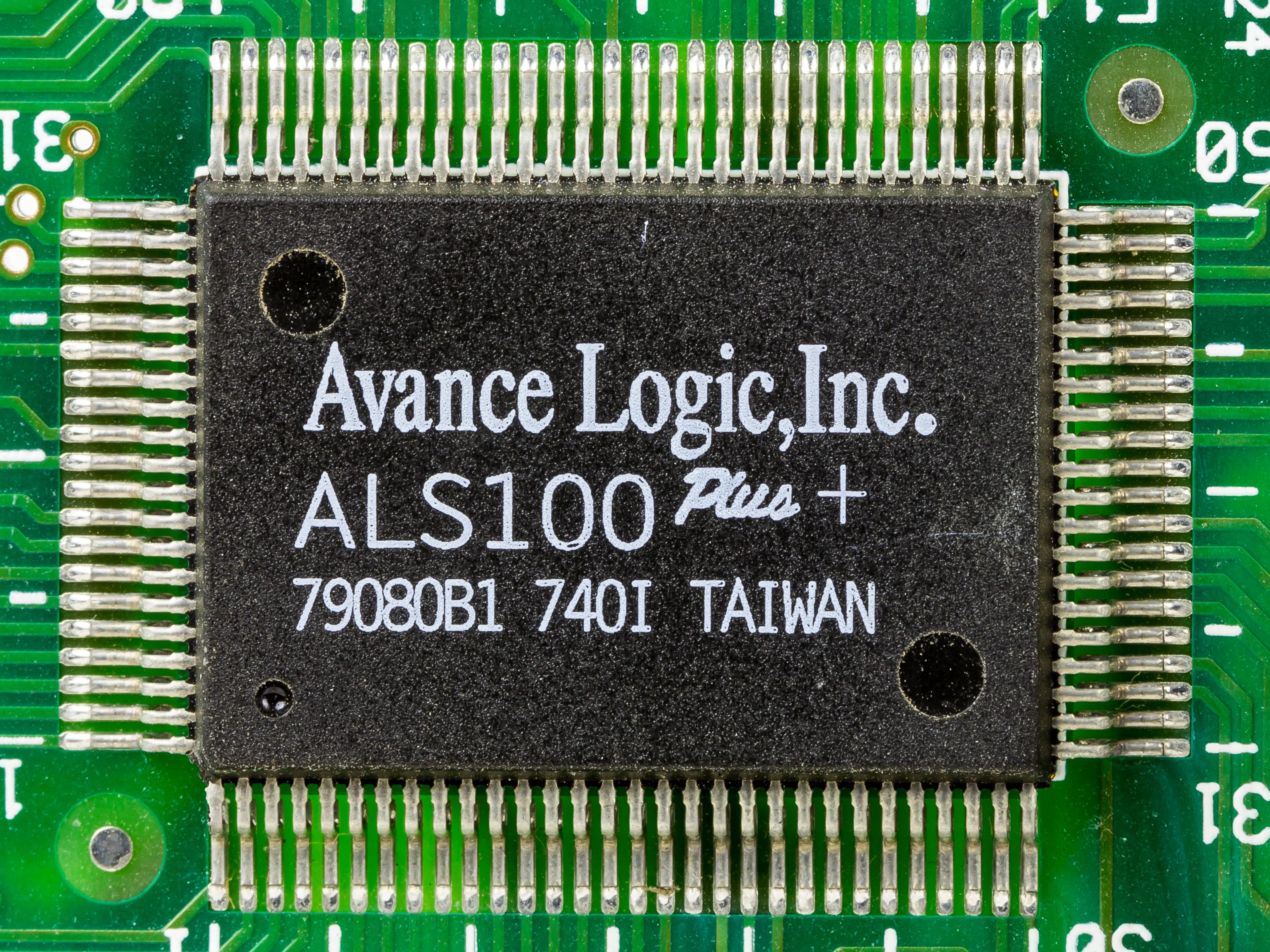 Advance Logic ALS 100 Windows 8 X64