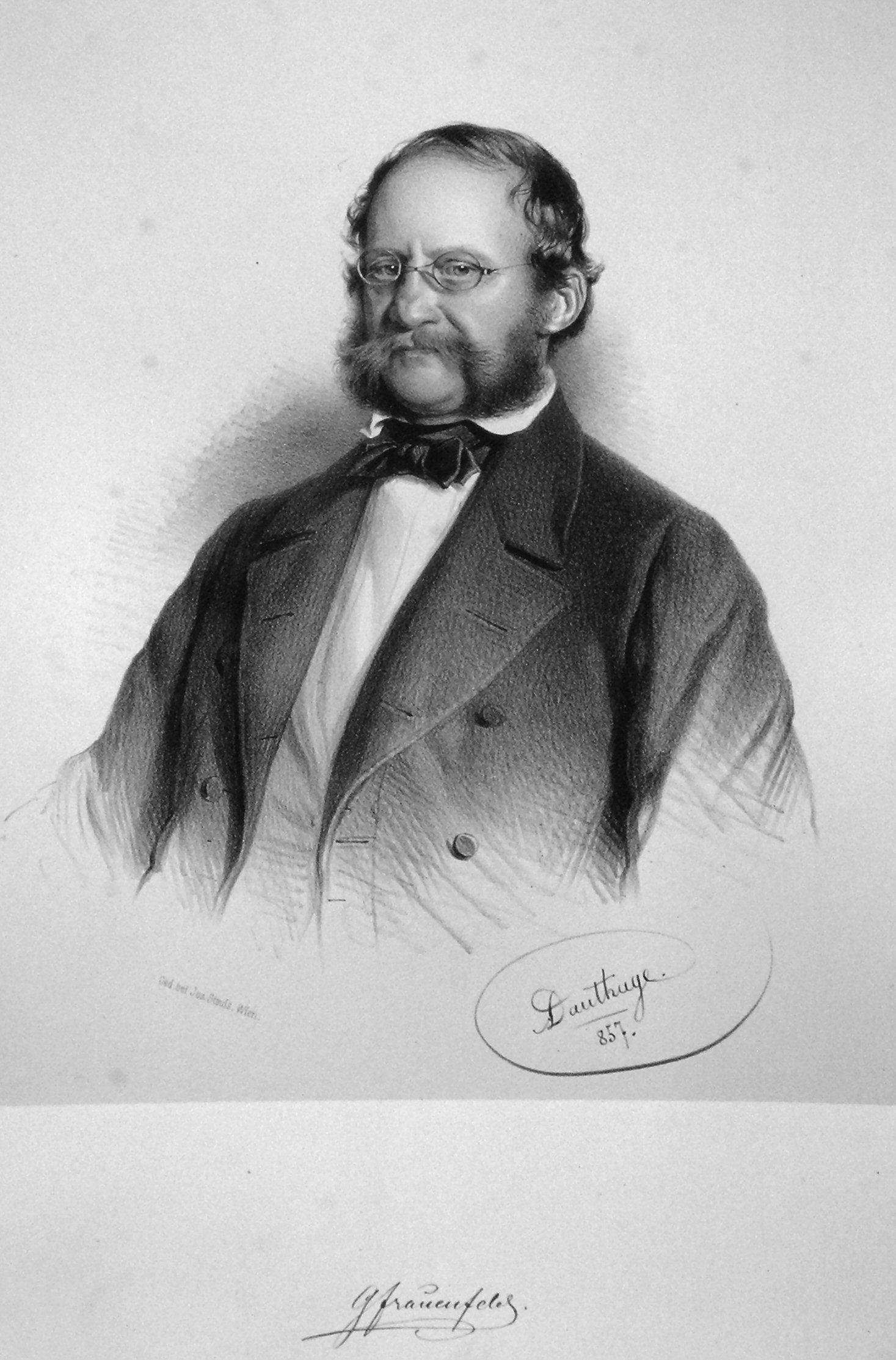 Georg von Frauenfeld, 1857