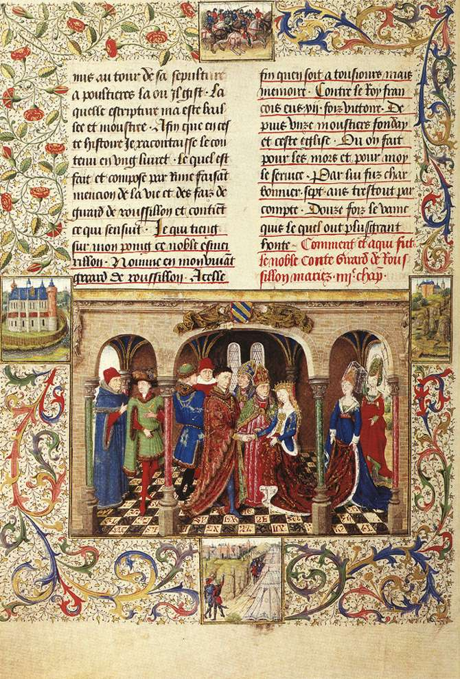 An overview of the early medieval periods illuminated manuscript art