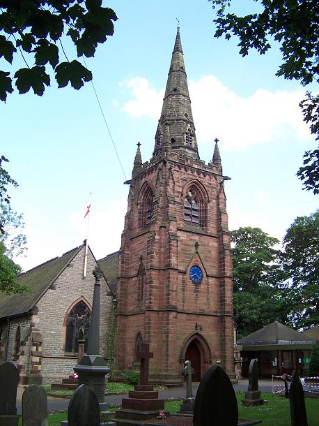 St. Margaret's Church, Great Barr - Wikipedia