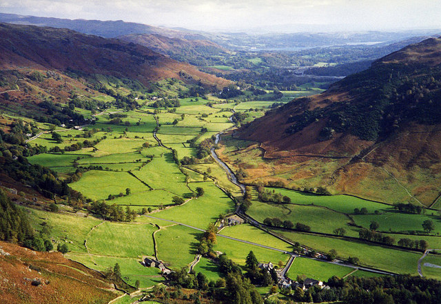Great Langdale Valley - geograph.org.uk - 1313226