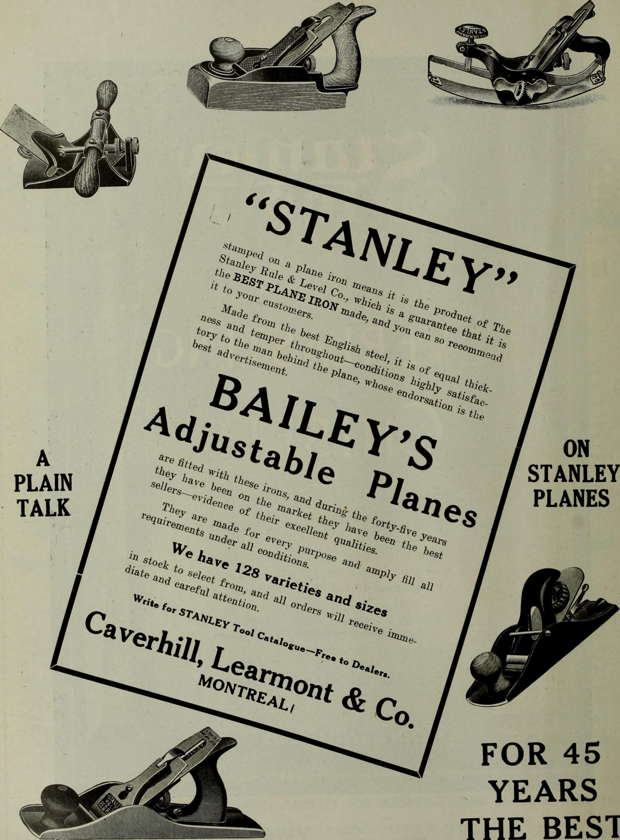 Dating english made stanley planes