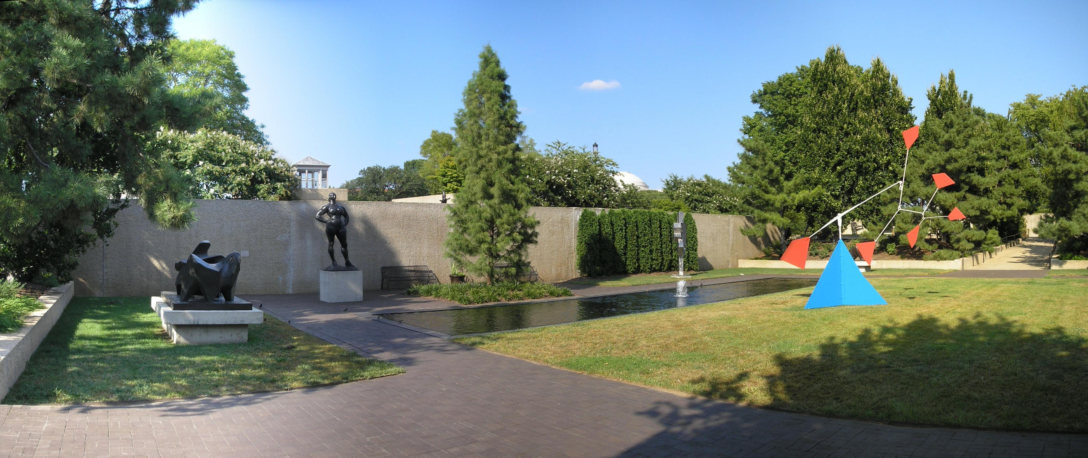 take a walk through hirshhorn museum and sculpture garden in washington d c photos places