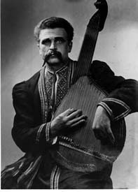 Kharkiv style bandurist Hryhory Bazhul