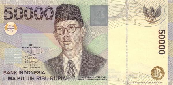 hal unik uang rupiah