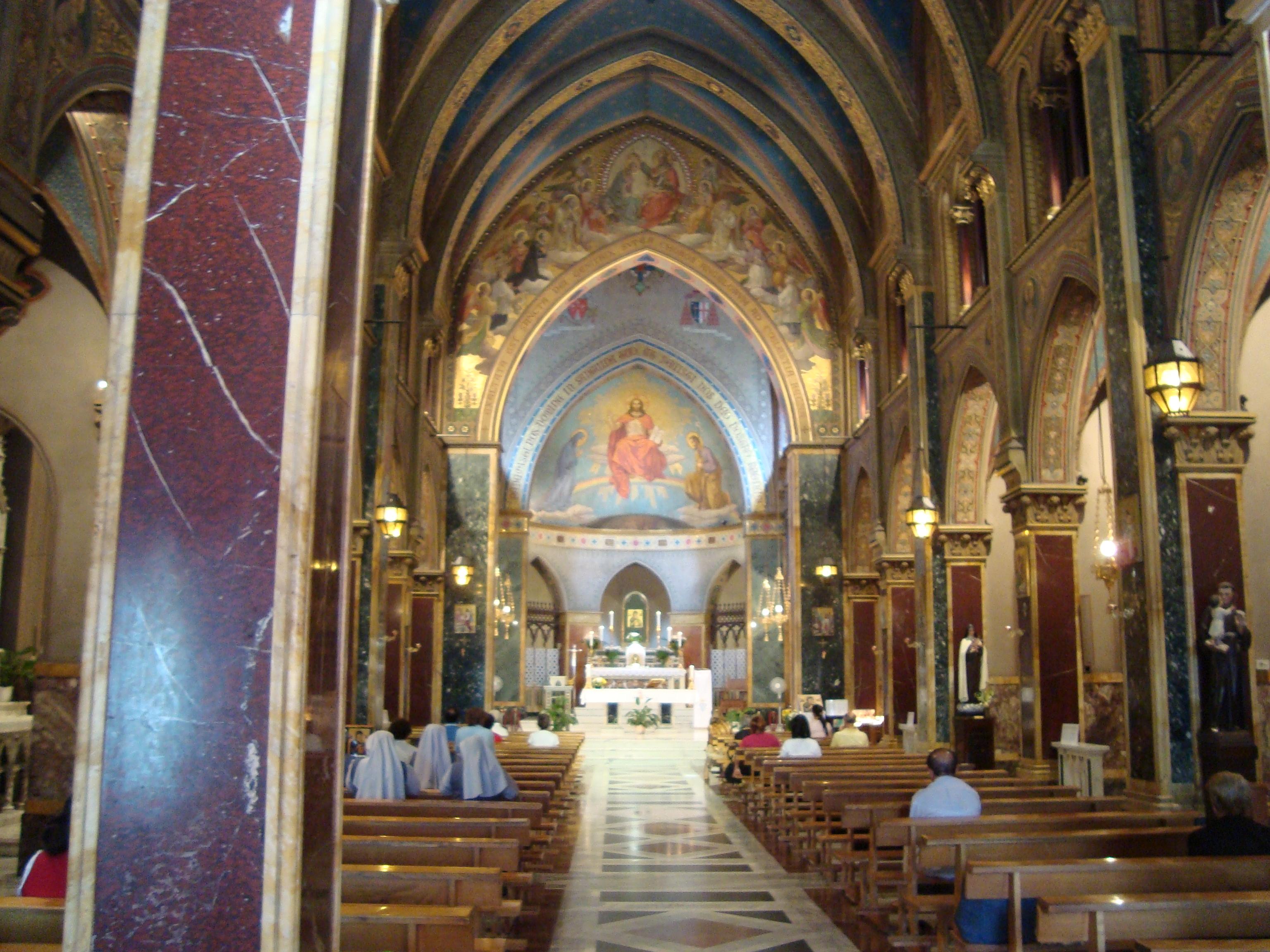 File:Intérieur de l\'Église Sant\'Alfonso all\'Esquilino.JPG ...