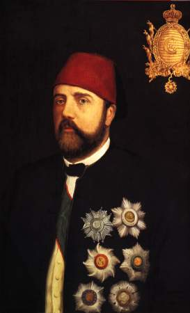 Ismail Pasha, the Ottoman Khedive of Egypt and Sudan from 1863 to 1879. Ismail Pacha.JPG
