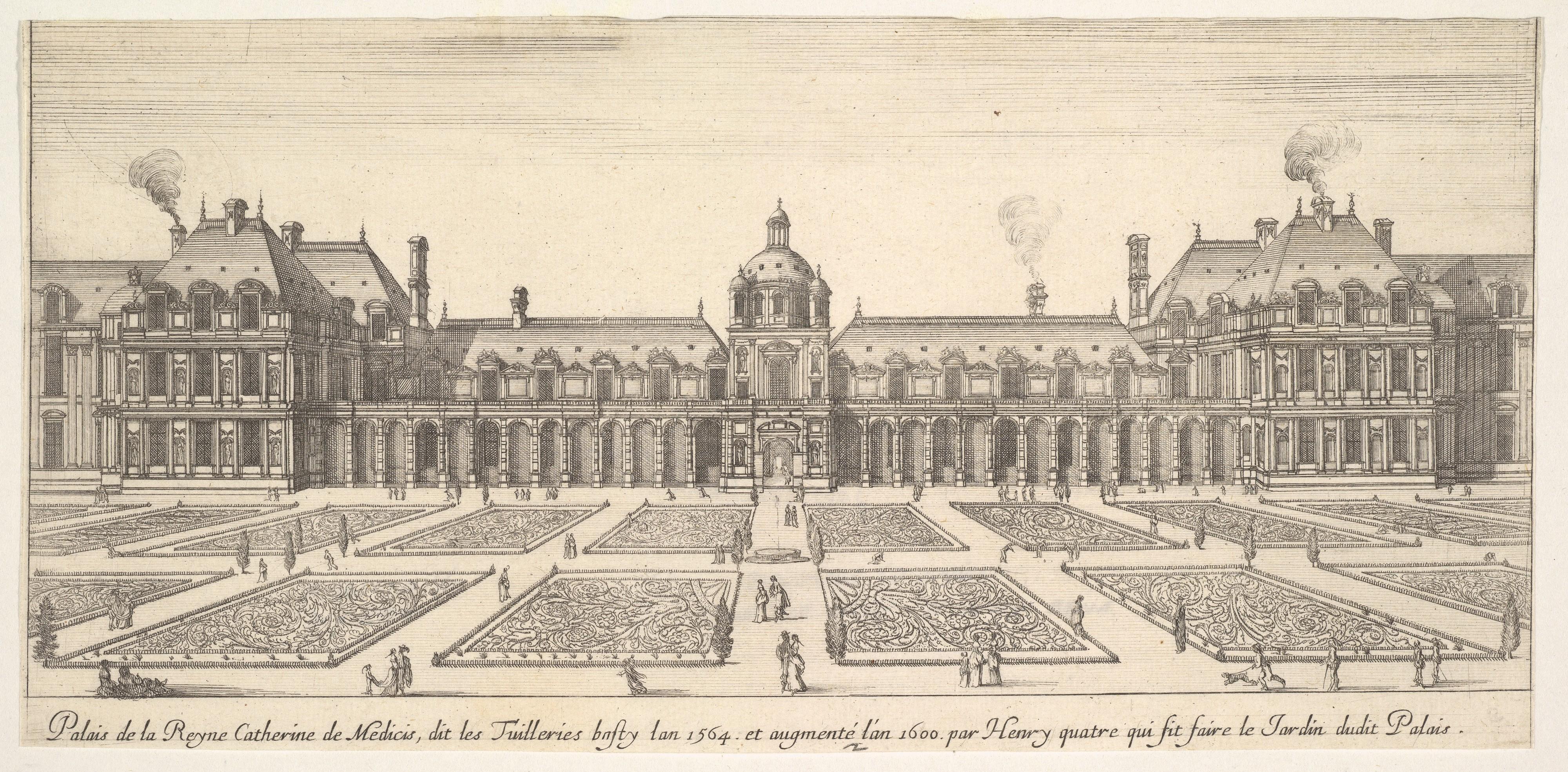 File israel silvestre palais de la reyne catherine de for Catherine de jardin
