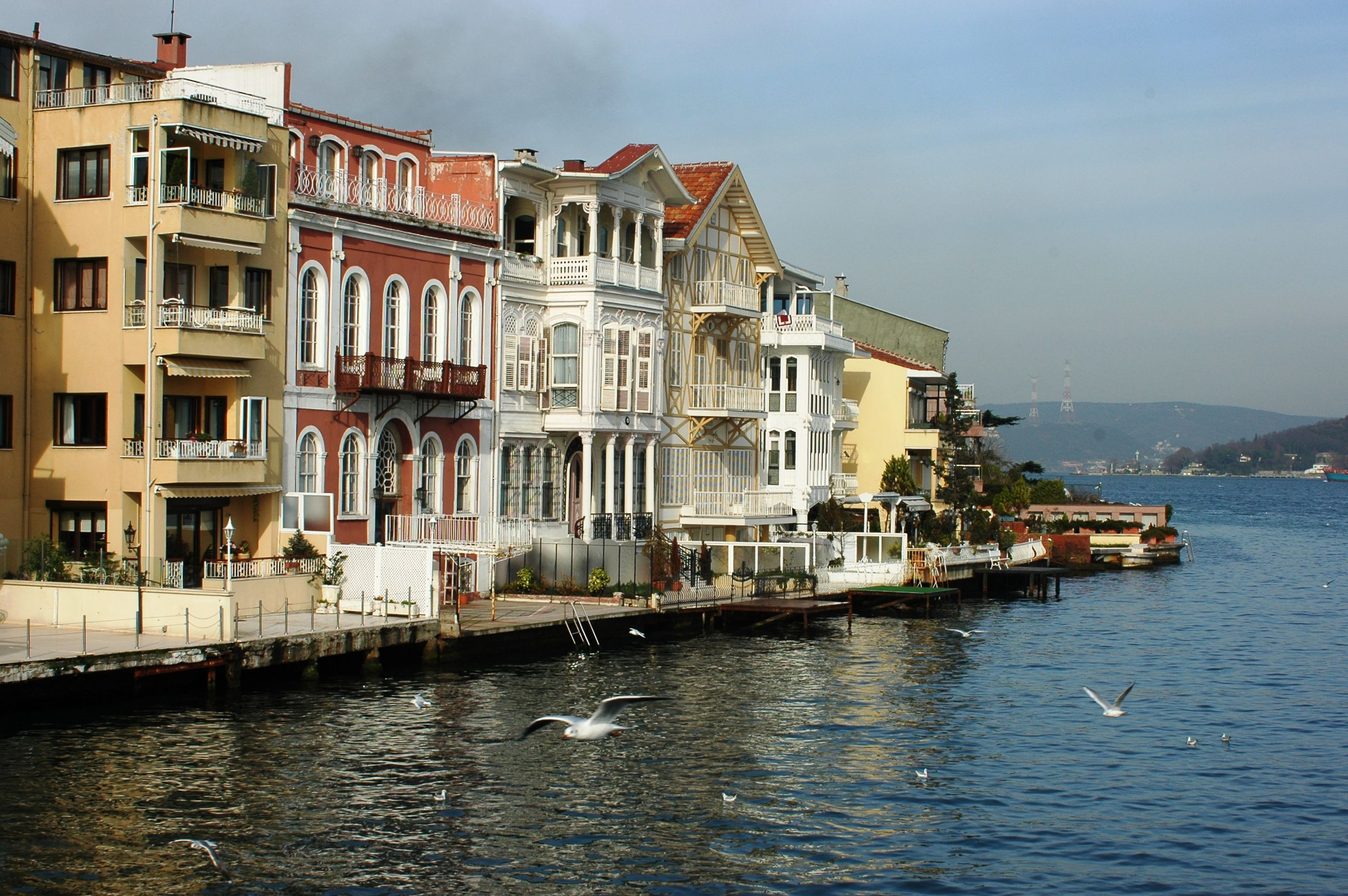 The Sariyer Area Of Istanbul