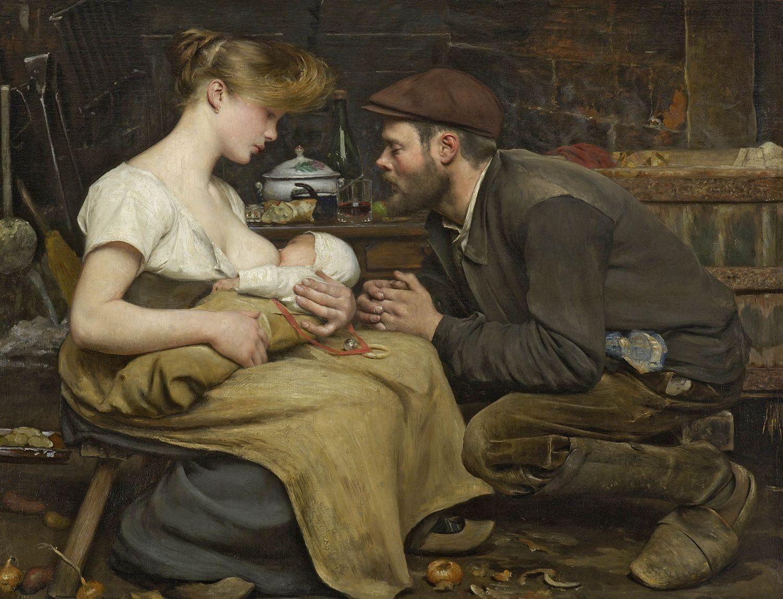 Famous Breastfeeding Paintings