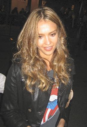 Jessica Alba at the Toronto Film Festival 2007