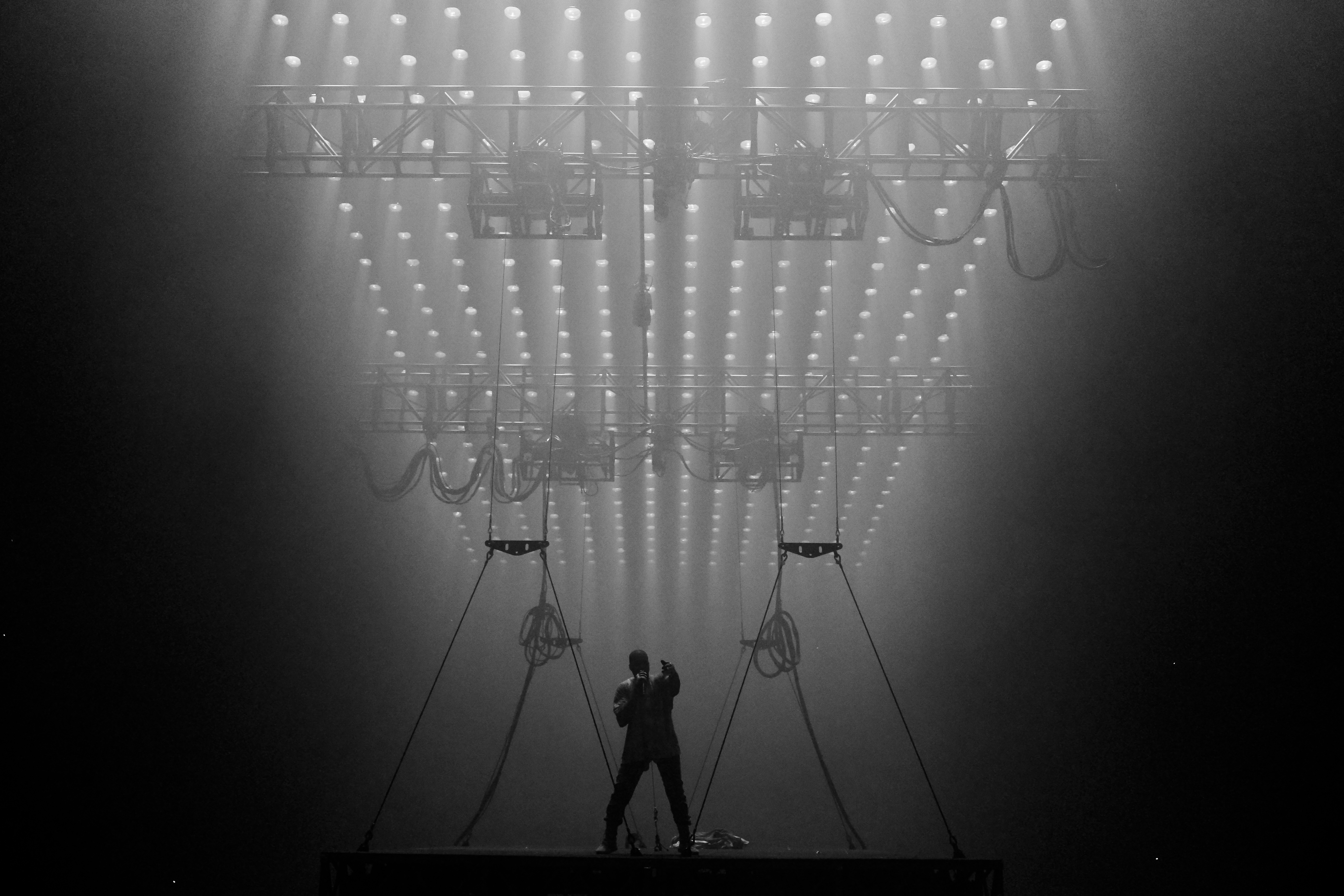 Beautiful File:Kanye West Saint Pablo Tour TD Garden 2016 13