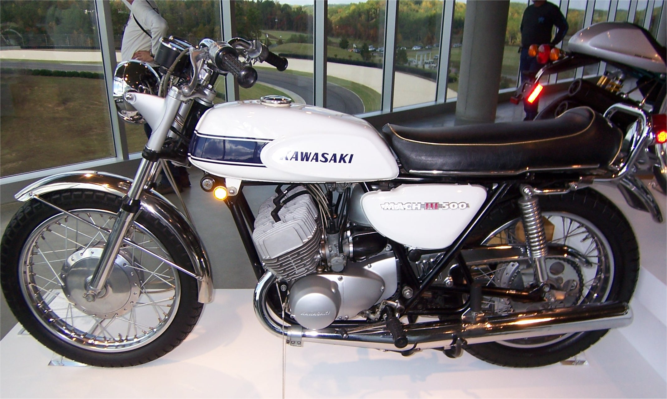 Kawasaki 500 H1 - Wikiwand