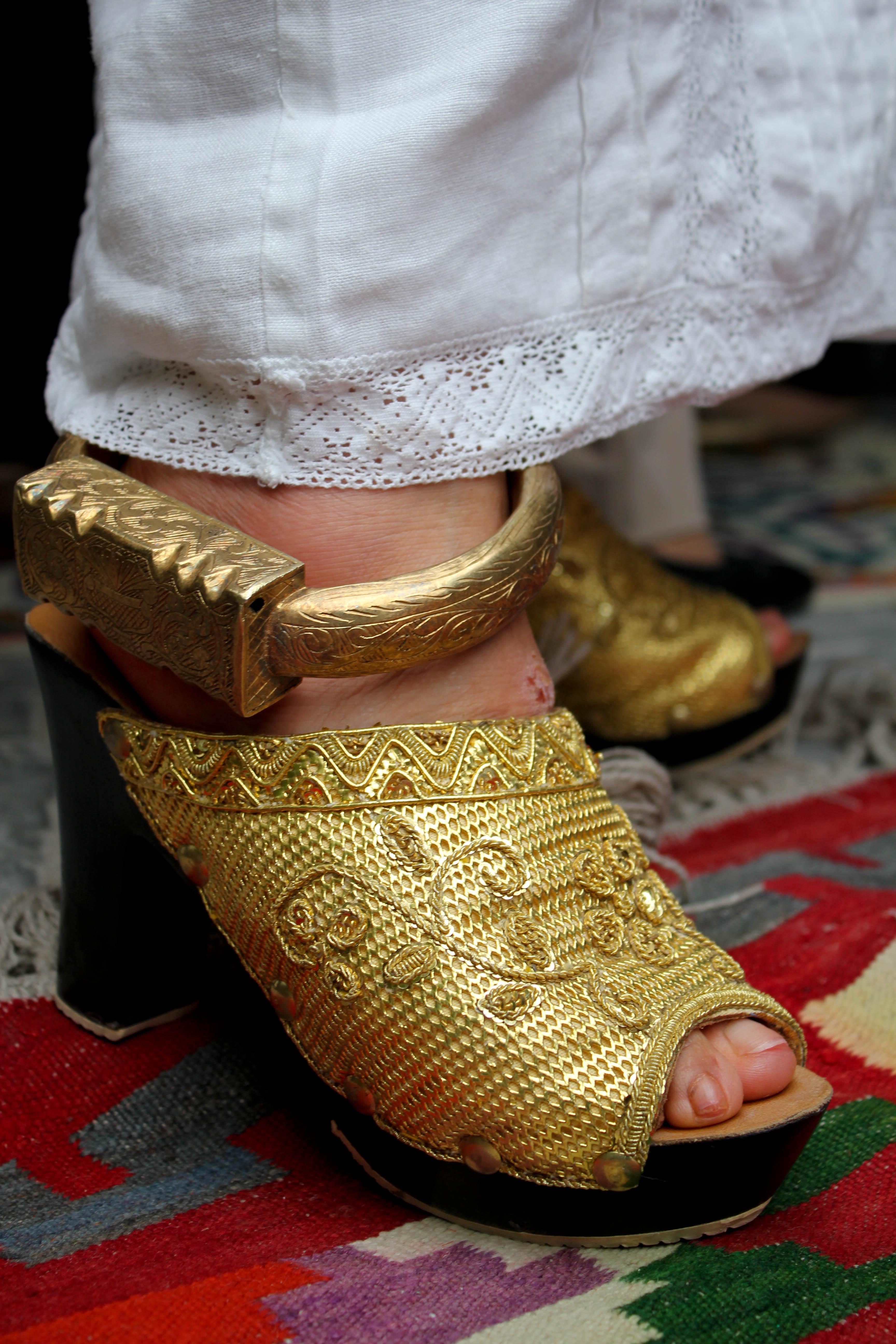 FileKholkhal bijoux traditionnel de la Tunisie
