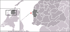 Location of Kornwerderzand