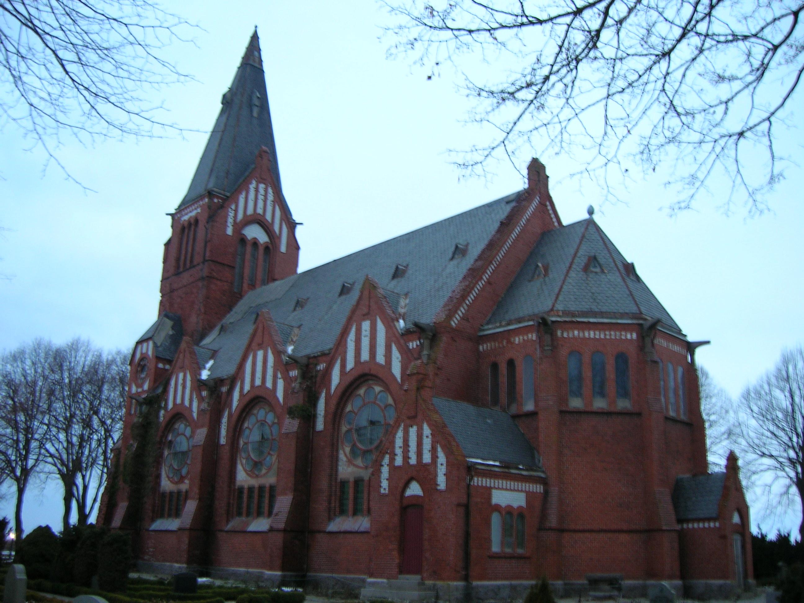 Bild av Maglarps nya kyrka