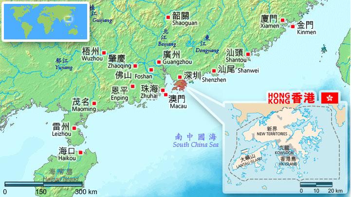 Map Of Cheung Chau Island