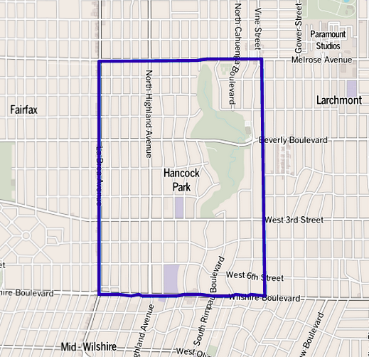 la neighborhood map with File Map Of Hancock Park Neighborhood  Los Angeles  California on 6034992722 likewise 14039176617 likewise 3100 Benedict Canyon Dr Beverly Hills CA 90210 M23617 08582 photo2 besides Unit 8 Neighborhood in addition File Map of Hancock Park neighborhood  Los Angeles  California.