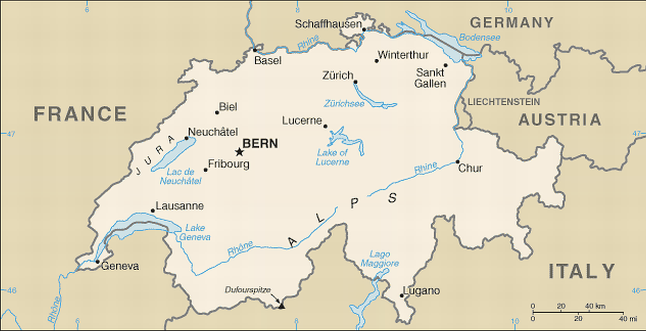 Karte Mit Hotel Auf Der Route Grande De Alpes