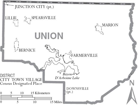 Union Parish, Louisianaunion parish