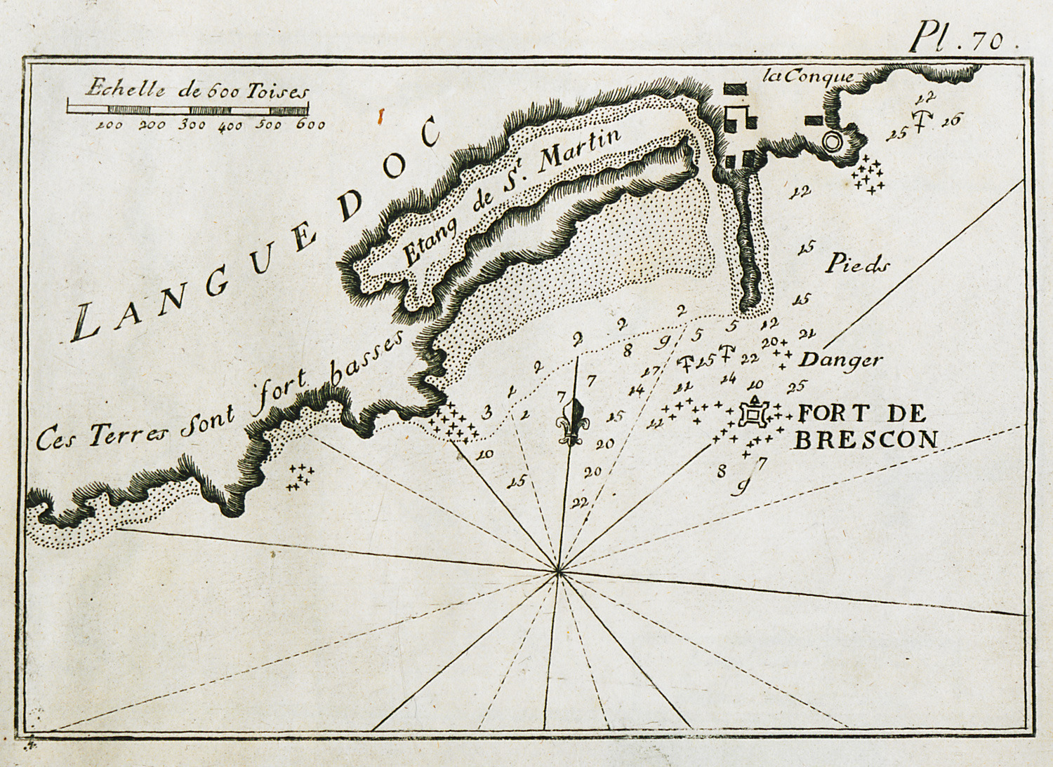 FileMap of the port of Agde in France Roux Joseph 1804jpg