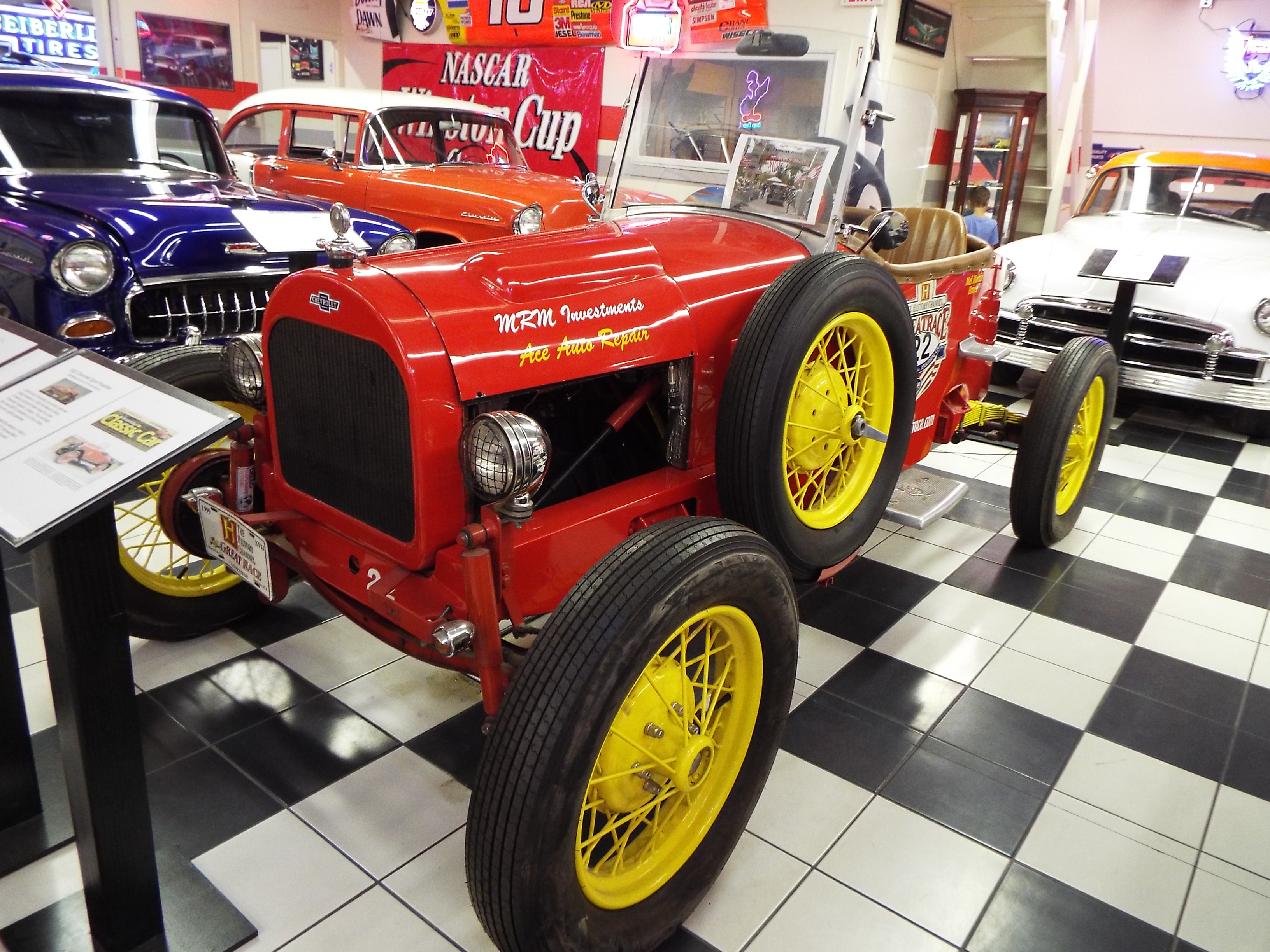 Martin Auto Museum >> File Martin Auto Museum 1922 Chevrolet Racer Jpg Wikimedia Commons