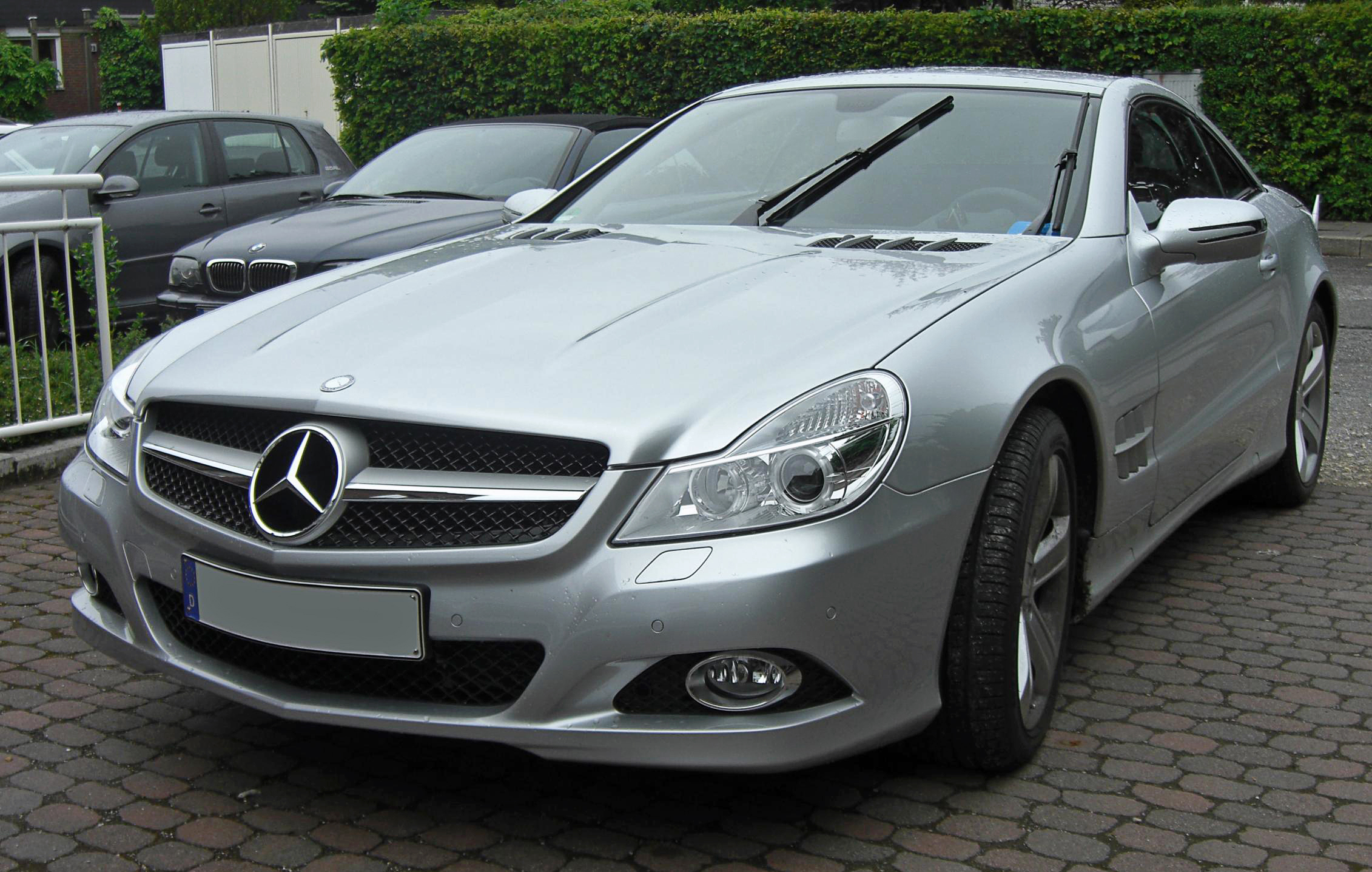 file mercedes sl 2 facelift wikimedia commons. Black Bedroom Furniture Sets. Home Design Ideas