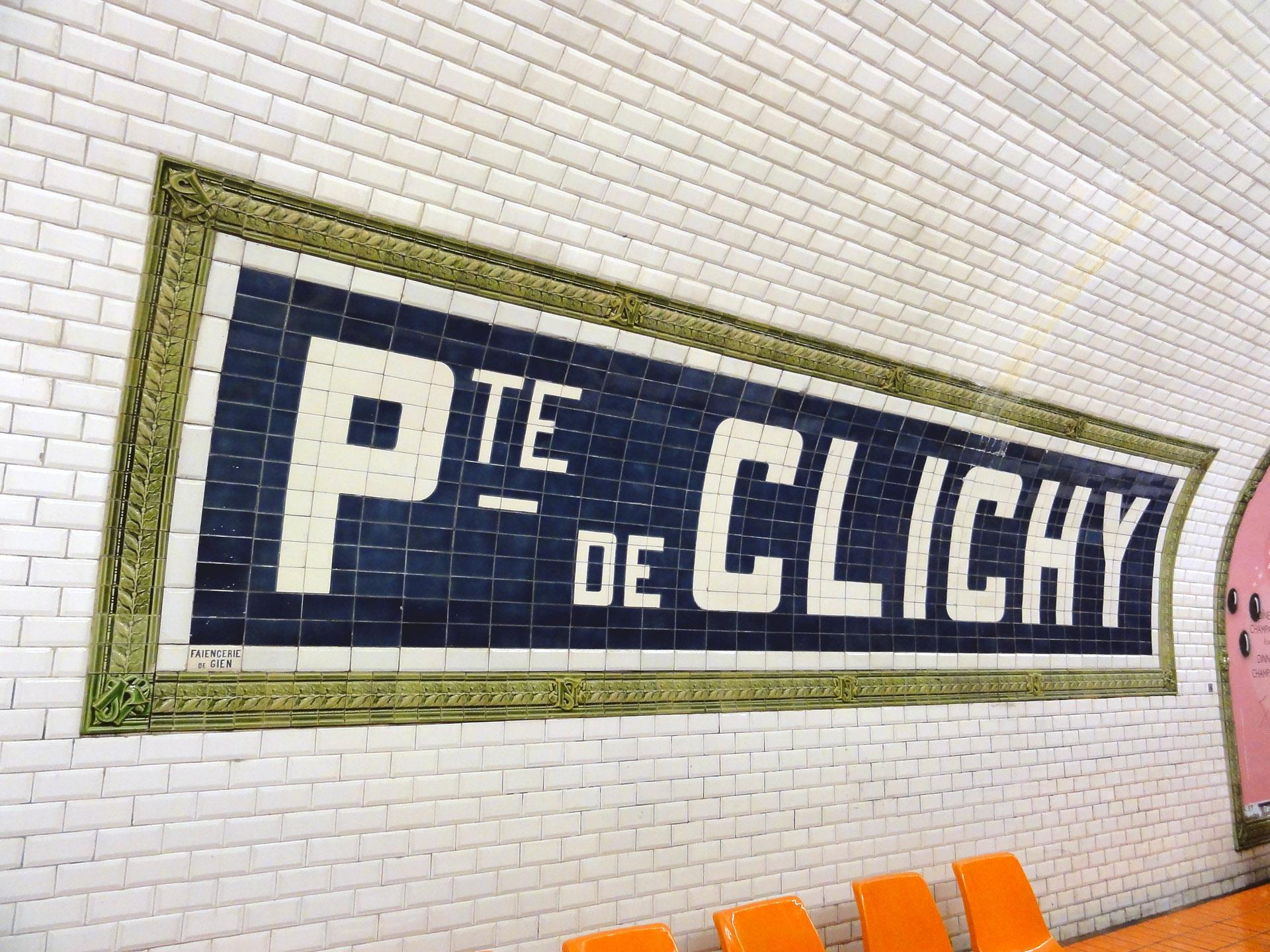 File Metro De Paris Ligne 13 Porte De Clichy 05 Jpg Wikimedia