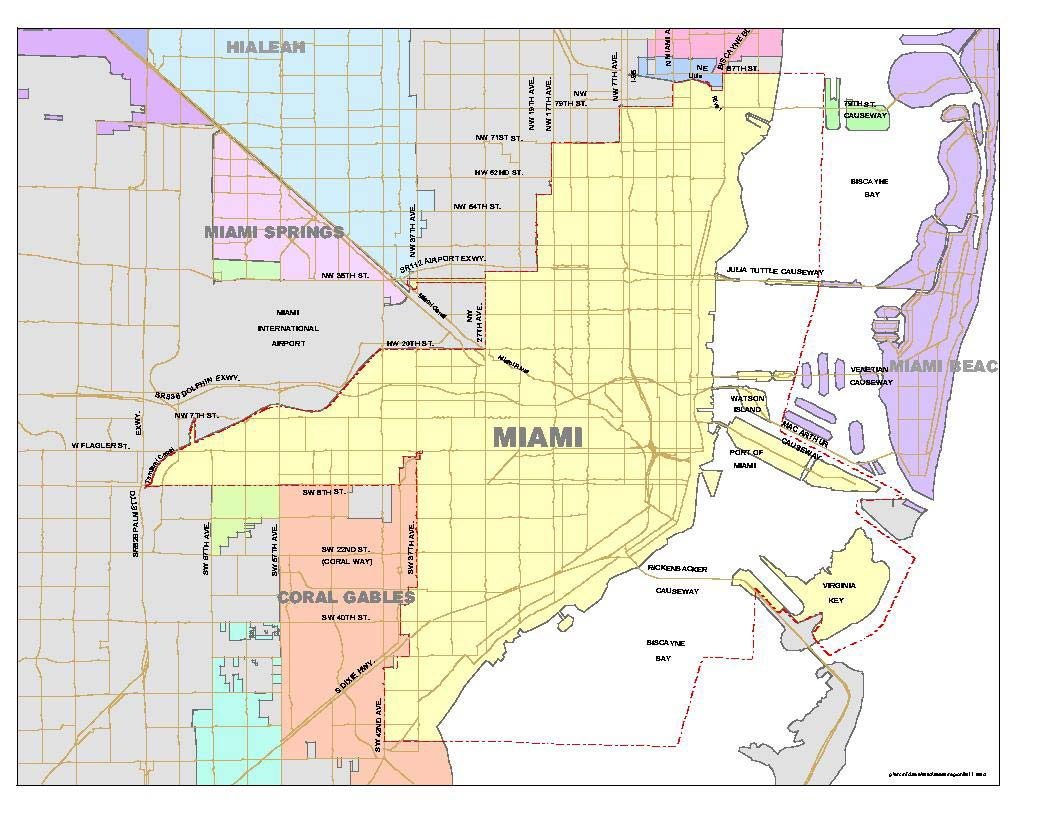 Coconut Grove Florida Map.List Of Neighborhoods In Miami Wikipedia