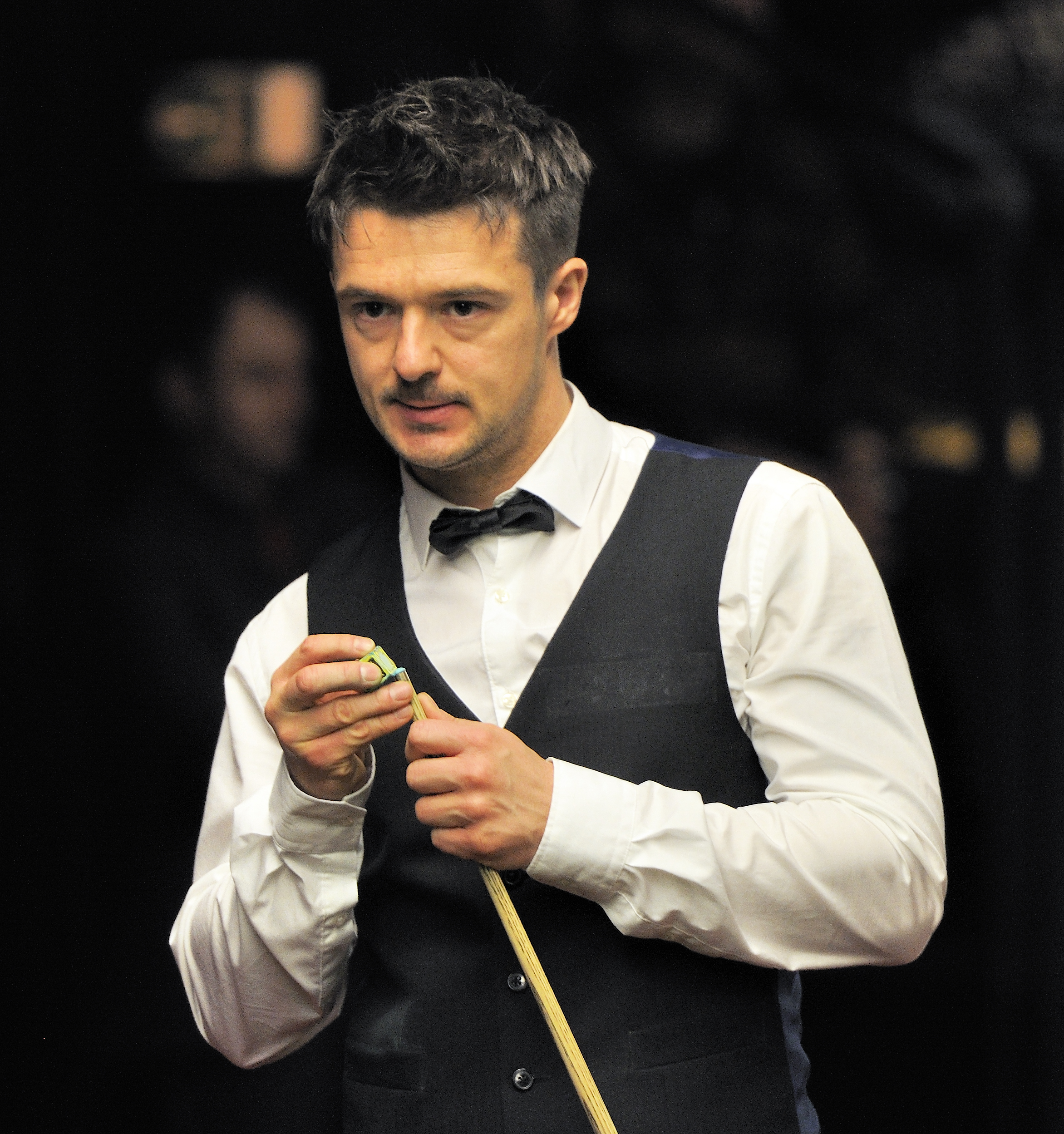 File:Michael Holt at Snooker German Masters (Martin Rulsch) 2014 ...