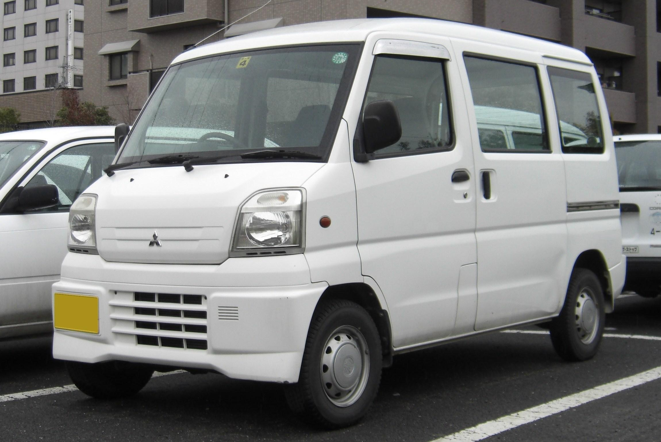 mitsubishi minicab wikipedia rh en wikipedia org 2002 Mitsubishi Galant Fuse Diagram 2007 Mitsubishi Galant Fuse Diagram