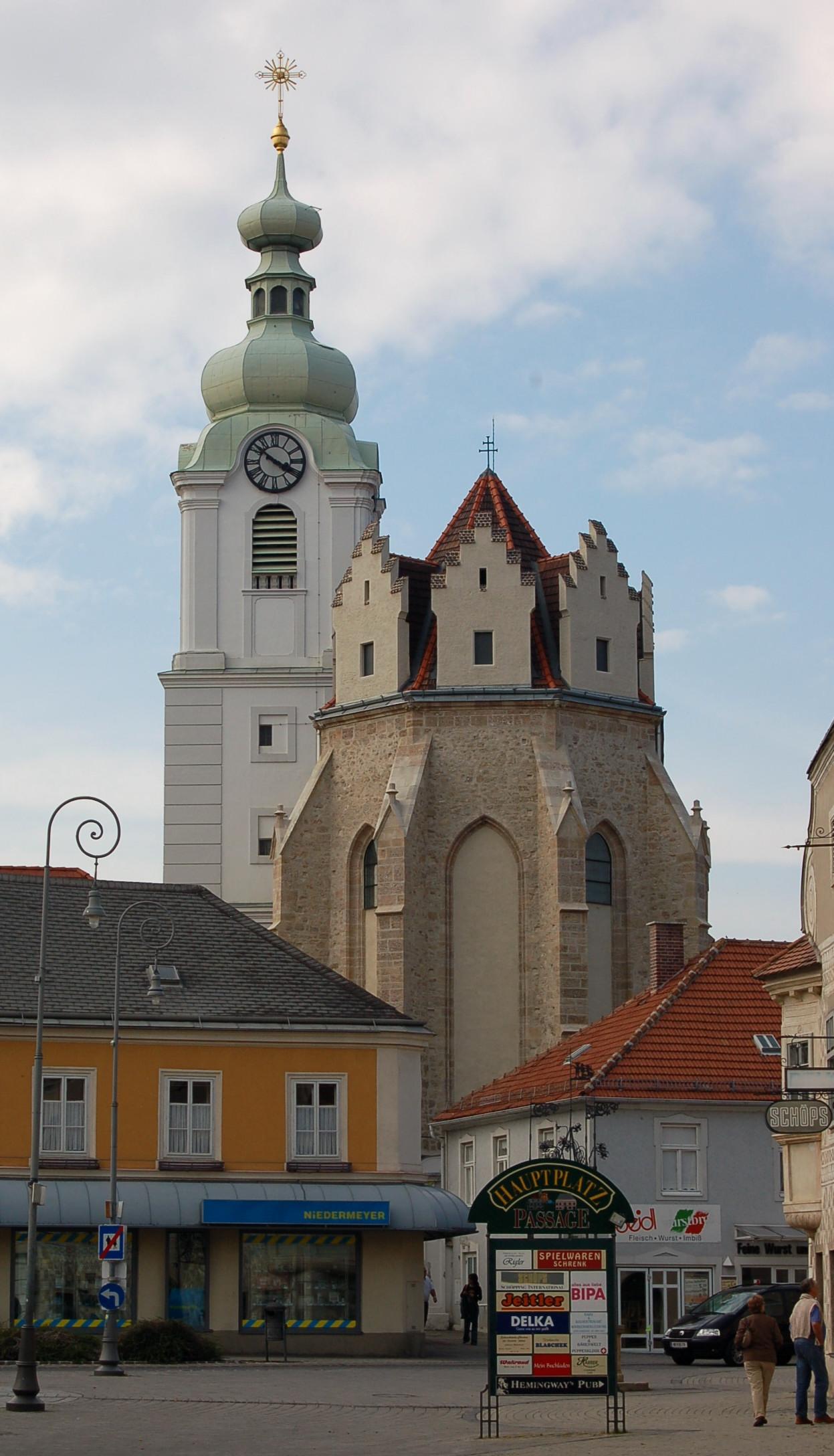 Neunkirchen noe Pfarrkirche.JPG