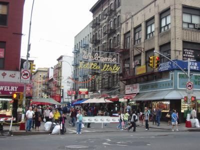 Description nyc little italy