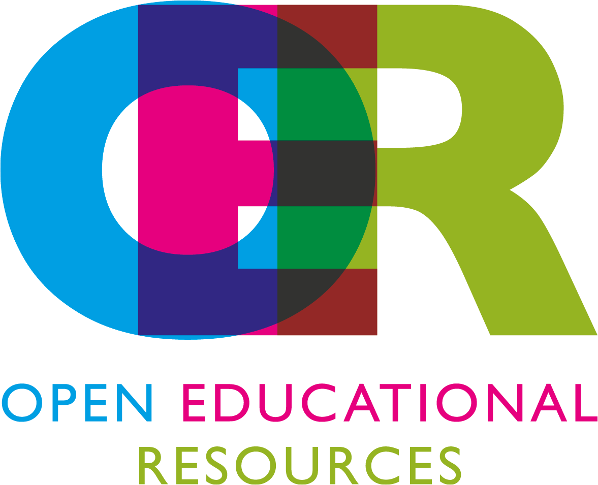 OER logo - opens creating an OER page in new window