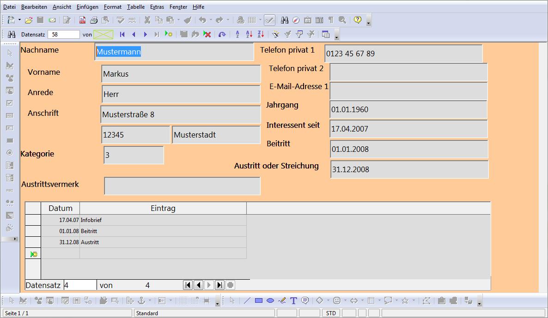 File:OOo Projekt Mitgliederdatenbank - Formular Person (2008).png ...