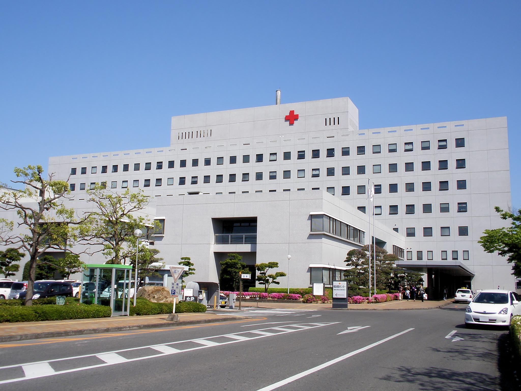 Okayama Red Cross Hospital, Kita-ku, Okayama. ???: ???????????????