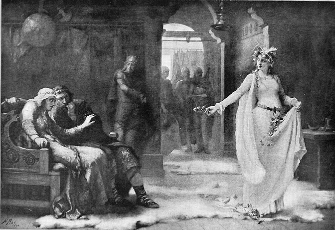 fear and inaction in act ii scene 2 of hamlet a play by william shakespeare Get free homework help on william shakespeare's hamlet: play act ii: scene 2 but is unschooled in his art and hesitates for fear of the.