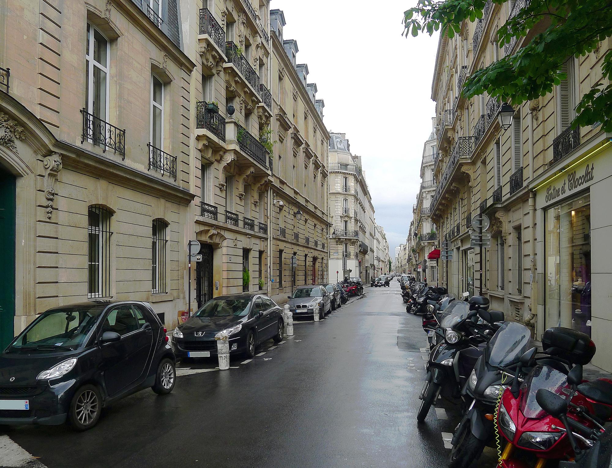 Image result for rue de l'universite in paris