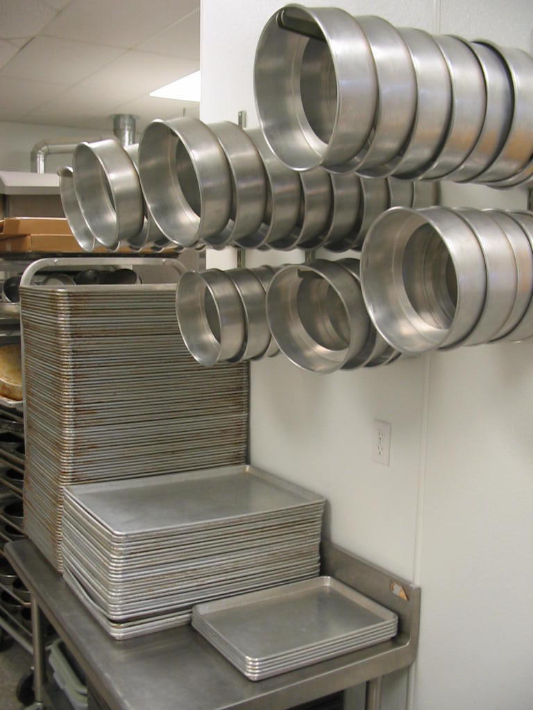 Pot Pans Commercial Kitchen