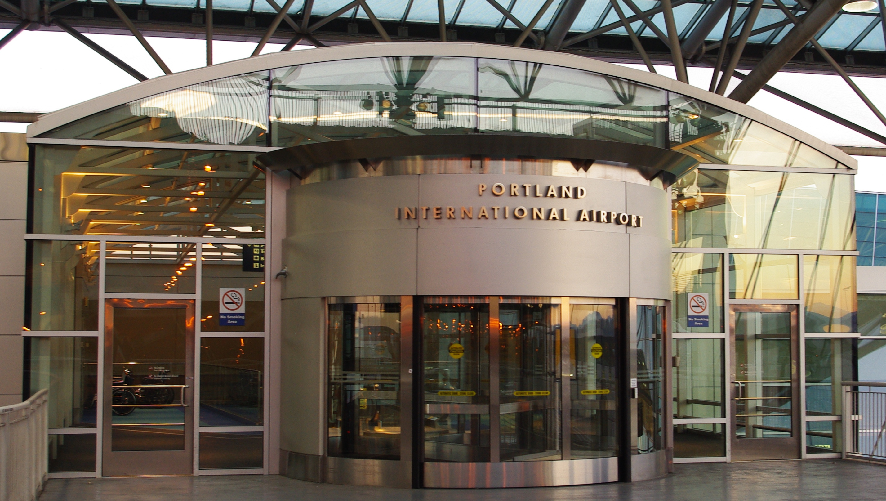 FilePortland International Airport revolving door - Oregon.JPG & File:Portland International Airport revolving door - Oregon.JPG ...