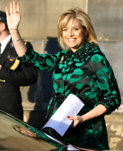File:Princess Maxima when pregnant.jpg