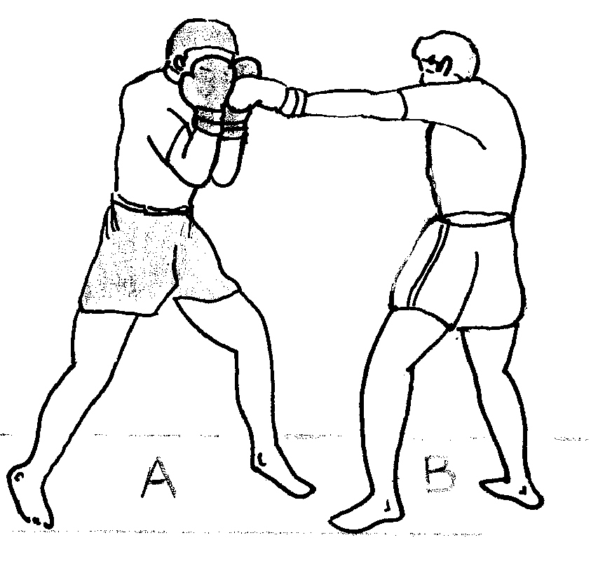 Image result for blocking while boxing
