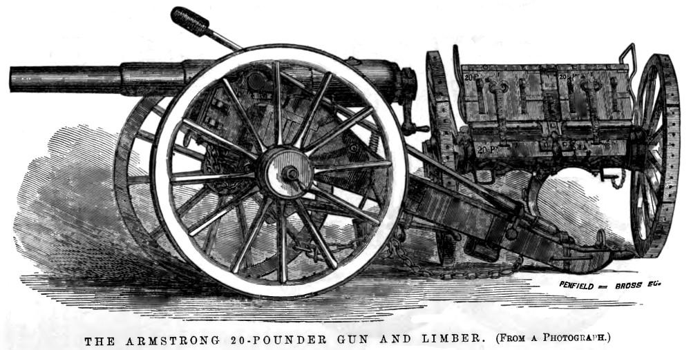 RBL 20-pounder Armstrong gun - Wikipedia