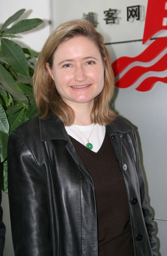 MacKinnon in [[Beijing]],  2005