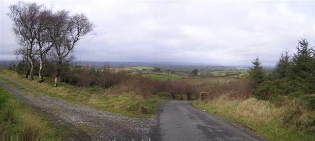 File:Road at Effernan Glebe - geograph.org.uk - 326110.jpg