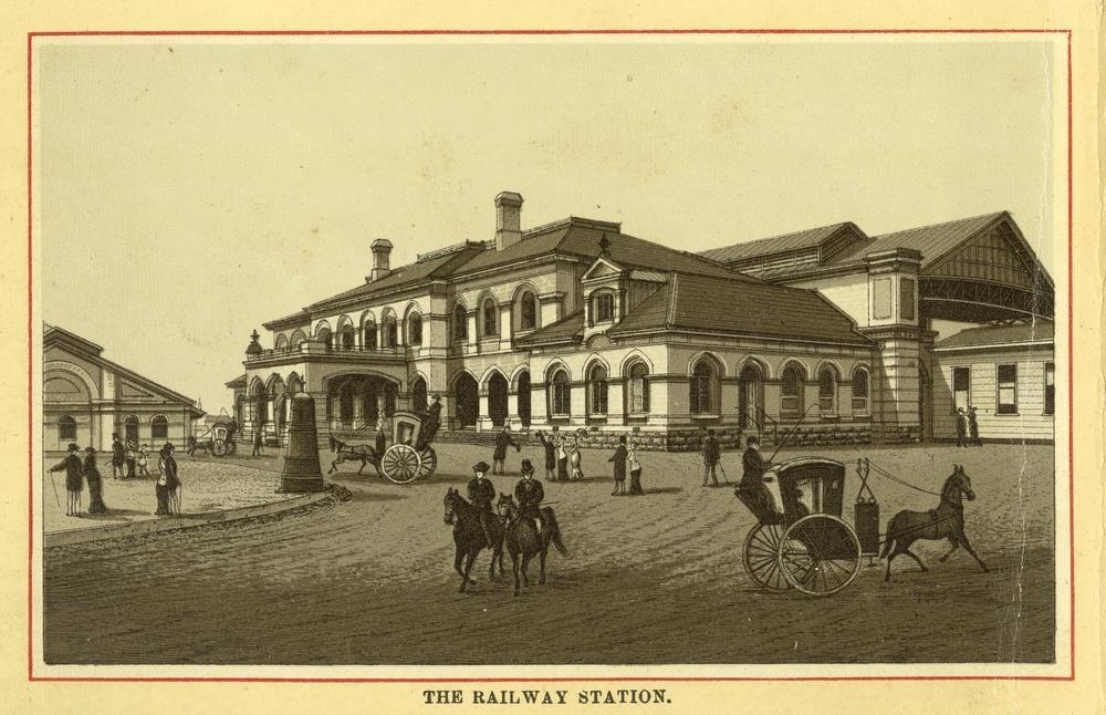 1873 roma street railway station building wikipedia. Black Bedroom Furniture Sets. Home Design Ideas