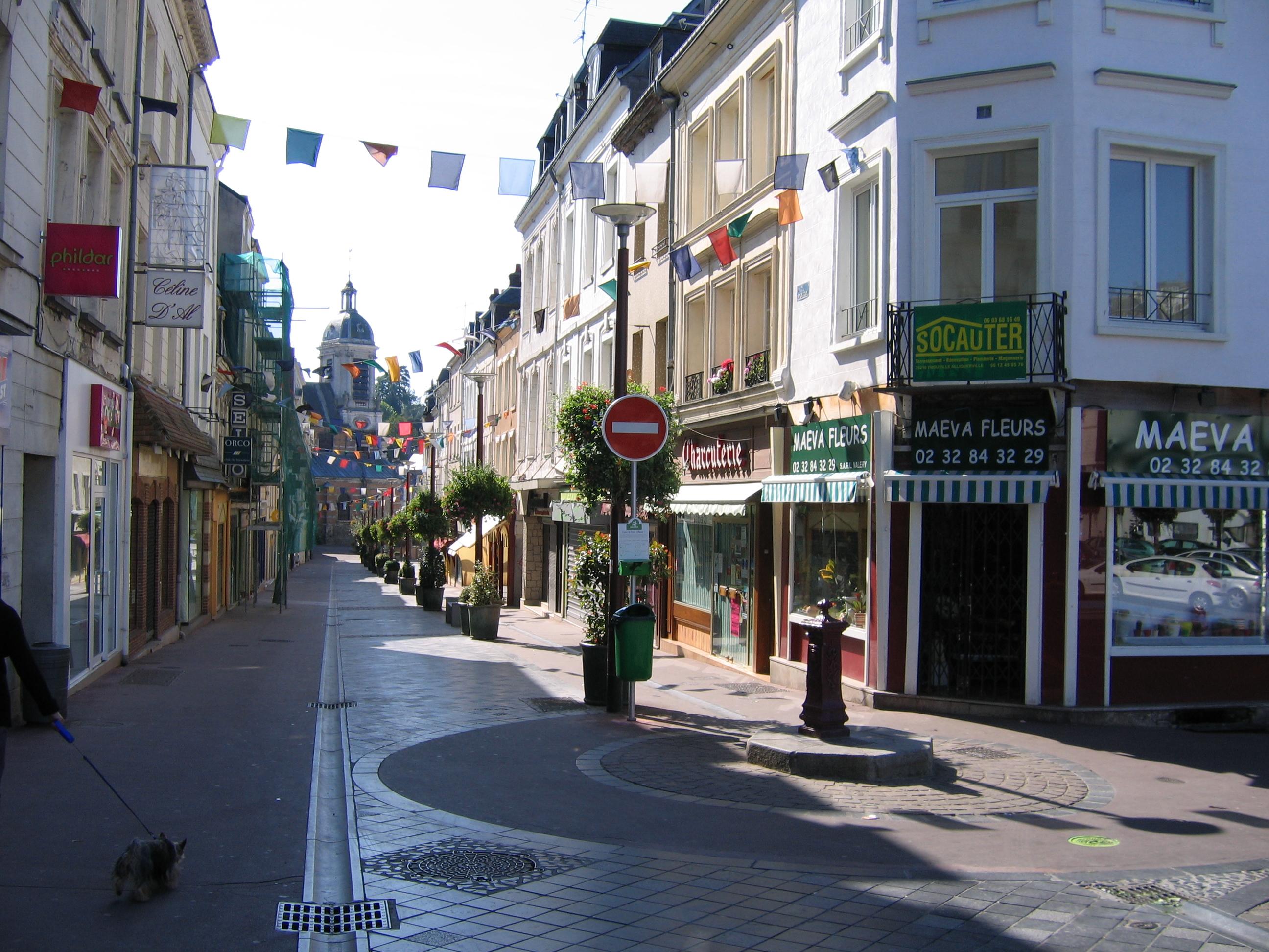 Ville De Bolbec Nombre De Logements Rue Pietonne